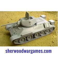1/48 Russian T34/76 1941 Model. In Resin By Blitzkrieg WWII Bolt Action,