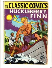 Classic Comics 19 (1944): HRN 22: FREE to combine- in Very Good condition
