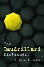 The Baudrillard Dictionary