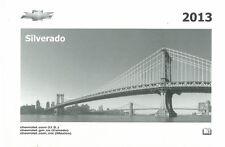 2013 Chevrolet Silverado Owners Manual User Guide