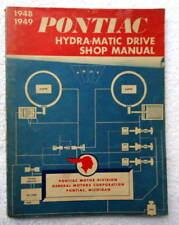 1948-49 PONTIAC HYDRA MATIC DRIVE SHOP MANUAL #10