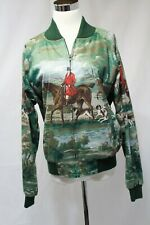 Vintage D.B Riding Gear Womans Jacket Bomber Sytle-Equestrian Themed