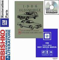 1986 Oldsmobile Cutlass Supreme Wiring Diagrams Manual Sheets Set Ebay