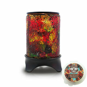 Owlchemy RAINBOW Electric wax burner with light & dimmer and autumn scents