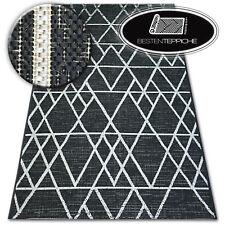 """Modern Natural Sisal Carpet Floorlux """" Triangles Practical Wipe Clean Messy"""