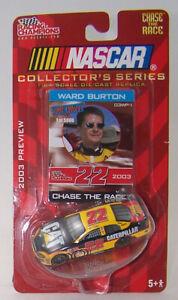 2003 PREVIEW Racing Champions 1:64 WARD BURTON #22 CAT Dodge WAR PAINT