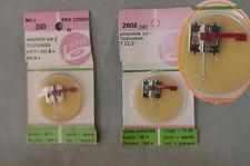 Lot de 2 x saphirs neufs adaptables  Telefunken T22/2