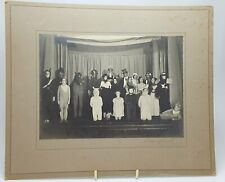 Vintage Photo Theater group in theatrical costumes. 1940s