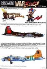 Kits World Decals 1/72 B-17 FLYING FORTRESS Lightning Strike & Fuddy Duddy