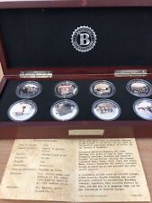 Bradford Exchange 70th Anniversary D-Day Silver Crowns Silver Plated Medals