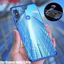 For Xiaomi Redmi Note 6 Pro 4X 5 Plus Mi 8 Lite Slim Clear TPU Soft Case Cover