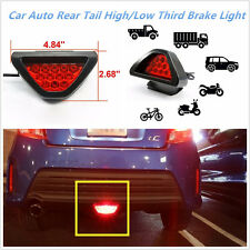 12LED Red Car Rear Tail High/Low Third Brake Stop Safety Lamp Light For Most Car