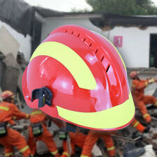 F2 Emergency Rescue Helmet Fire Fighter Safety Helmets Protect Anti-impact M8Q3