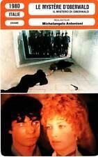 FICHE CINEMA : LE MYSTERE D'OBERWALD - Vitti,Antonioni 1980 The Mystery Of O.