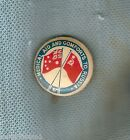 #D202. MEDICAL AID & COMFORTS TO RUSSIA WWII TIN BADGE