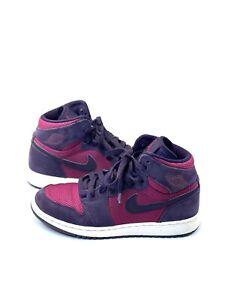 Nike Air Jordan 1 Retro High GG'True Berry' 332148-608 Youth Sneakers Size 4Y