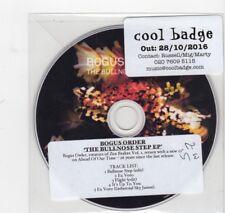 (HV224) Bogus Order, The Bullnose Step EP - 2016 DJ CD