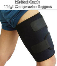 Thigh Leg Support Hamstring Quadriceps Wrap Groin Quad Brace Compression Sleeve