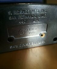 Reisner Safe Deposit Box Lock