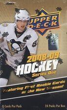 2008-09 Upper Deck Series 1 Hockey Hobby Box