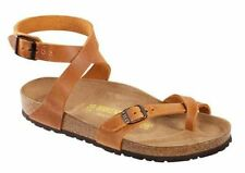 Women's Buckle Leather Sandals and Flip Flops