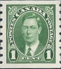Canada   # 238   King George VI Issue   Brand New 1937 Original Pristine Gum