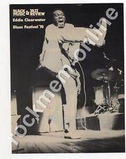 Eddie Clearwater Black Music Magazine Poster