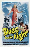 Blues in the night Priscilla Lane #2 movie poster