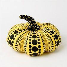 YAYOI KUSAMA Soft Sculpture Pumpkin Squash S Yellow NEW Dots Obsession F/S Vuitt