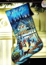 Dimensions Gold Christmas Eve Fun Stocking Kit Counted Cross Stitch J.Meger