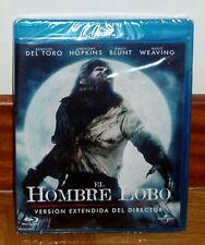 EL HOMBRE LOBO-THE WOLFMAN-BLU-RAY-NUEVO-PRECINTADO-VERSION EXTENDIDA-TERROR