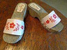 Vintage Rey Dan Binan Lag.R.P. Clog Shoes Sandals Oriental Size 4