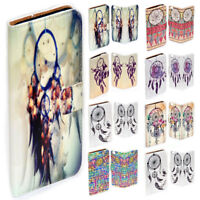 For Sony Xperia Series Dream Catcher Theme Print Wallet Mobile Phone Case Cover