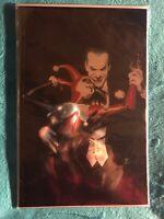 BATMAN: HARLEY QUINN 💥ALEX ROSS BLACK FOIL COVER💥 *NM* 80th year Variant.
