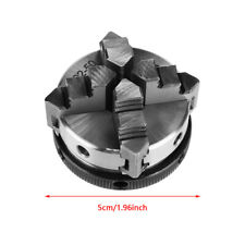 Reversible Lathe Chuck 4-Jaw Self-Centering Chuck for Metering Machine Tools