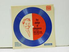 Red Skelton (cardboard disc) The Pledge Of Allegiance   Burger King VG+
