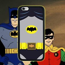 Batman Adam West for iPhone 4 4s 5 5s 5c 6 7 Plus ipod touch 5 (2in1) Phone case