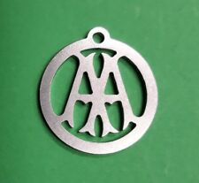 AA Automobile Association Pre War Logo Stainless Key Ring Christmas Tree Bauble