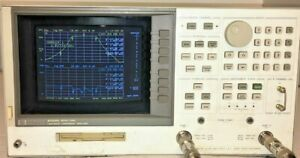 Agilent / HP 8702D Network Analyzer s-parameter test set (30 KHz -3 GHz)