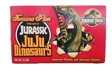 Jurassic Park Ferrara Pan Jurassic JuJu Dinosaurs Candy Vintage 1993 New