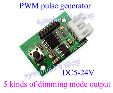 PWM Signal Generator Duty Ratio Fan/Motor Speed Dimming Lightness Controller