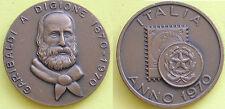 MEDAGLIA GETTONE TOKEN - ITALIA ANNO 1970 - GARIBALDI A DIGIONE 1870 --->1970 -
