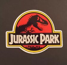 S108 Jurassic Park logo movie film Sticker, laptop, wall,book, phone