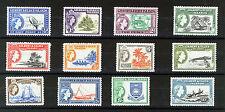 GILBERT & ELLICE ISLANDS 1956 DEFINITIVES SG64/75 MNH