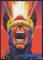 1995 Flair Marvel Annual Trading Card #9 Cyclops