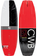 CWB Board Co. PURE Mens User Friendly Wakeboard 141cm White Black Red NEW