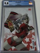 DC Comics Harley Quinn #57 Julian Totino Tedesco Variant Cover B CGC 9.8