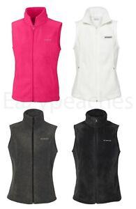Columbia Womens Benton Springs Soft Fleece Vest, Size XS, S, M, L, XL, 2X Ladies