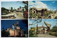 Disneyland Fantasyland Castle Postcard 1950's Magic Kingdom Ca Skyrim's Exploere