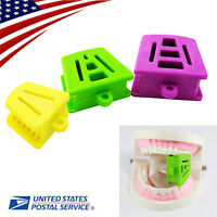 US Dental Silicone Latex Mouth Prop Bite Blocks L/M/S/Adult / Children